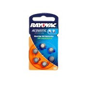 Baterii auditive zinc-aer Rayovac Acoustic Special 13