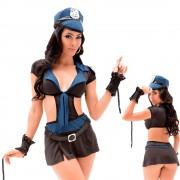 Fantasia Policial Sapeka Luxo