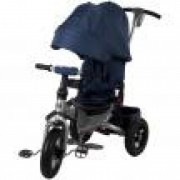 Tricicleta multifunctionala Little Tiger T400 Sun Baby Albastru