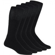 Ultimate Cotton Black Sock s (Pack Of 5)