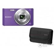 Aparat foto Sony DSC-W830, mov + 32GB SD + Carcasă Sony