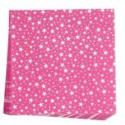 Neviti (Stars Pink) 678092 Carnival Napkin, Stars Pink