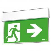 Lampada di emergenza Beghelli SA UP LED EXIT bandiera 1/2/3H 4320