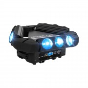 Spider Moving Head - 9 LED-lampor - 100 W