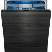 Siemens IQ-700 SN678D06TG Fully Integrated Standard Dishwasher - Black Control Panel with Fixed Door Fixing Kit - A+++ Rated
