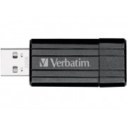 Verbatim Pin Stripe USB-minne 32 GB Svart 49064 USB 2.0