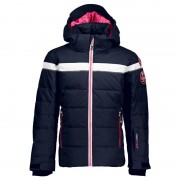 CMP Girl Jacket Snaps Hood (38W0465) Blå