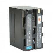 DSTE NP-F970 / 950/930 de la bateria + DC01 Cargador para Sony + Mas - Negro
