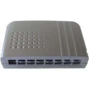 506128 - Smartbox Keystone 8-Port, leer,schwarz 506128