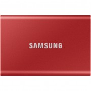 Samsung T7 1TB USB 3.2 külsõ SSD meghajtó - piros
