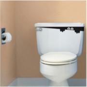 Samolepka duch záchoda