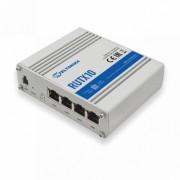 Router industrial Teltonika RUTX10, WiFi, 4 porturi Ethernet, WIFi, Bluetooth, MODBUS, intrare si iesire digitala