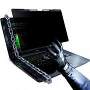 """VINTEZ Universal/individual acrílico y visualización de privacidad extraíble para computadora portátil/monitor, Tipo de marco para portátil., 14"""" WIDESCREEN (16:9)"""