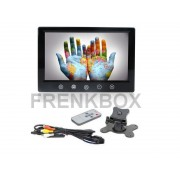 Mini Monitor 9 Pollici LCD TFT a colori doppio ingresso Video AV per retromarcia