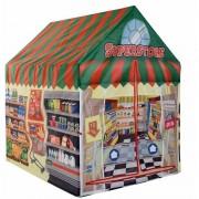 Merkloos Speeltent/speelhuis supermarkt 102 cm