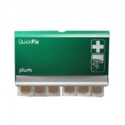 Plum Deutschland GmbH Plum QuickFix Water Resistant Wandspender, Wandspender für QuickFix Water Resistant Pflaster, Mit 2 x 45 wasserfesten Pflastern