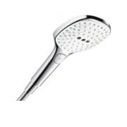 Para dus Hansgrohe Raindance Select E120 cu 3 jeturi, culoare alb-crom -26520400