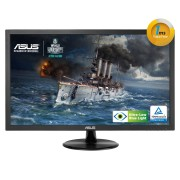 """""""Monitor ASUS 21.5"""""""""""""""" Wide 1920x1080 FHD 1ms DVI-D/D-SUB/COLUNAS -VP228TE"""""""
