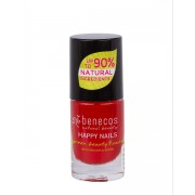 Benecos Happy Nails körömlakk – vintage red 5ml