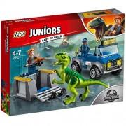 LEGO Juniors Camionul de Salvare al Raptorului 10757