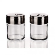 Banquet 3343880 Üveg só és borsszóró szett 2 részes
