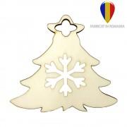 Ornament de brad lemn - brăduț