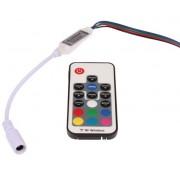 T-LED RGB mini RF ovladač 063322
