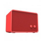 Astrum ST180 piros hordozható bluetooth hangszóró, mikrofon, FM rádió, micro SD olvasó, 3W