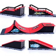 Tradico® Skate Park Ramp Parts for Tech Deck Fingerboard Finger Board Ultimate Parks Site