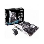 Tarjeta Madre ASUS ATX Z170-DELUXE, Intel Z170, HDMI, USB 2.0/3.0/3.1, 64GB DDR4, para Intel ― Requiere Actualización de BIOS para trabajar con Procesadores de 7ma Generación
