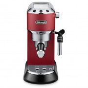 DeLonghi Dedica Style EC685.R Pump Espresso Coffee Machine - Red