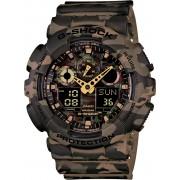 Ceas barbatesc barbatesc Casio G-Shock GA-100CM-5AER Camouflage