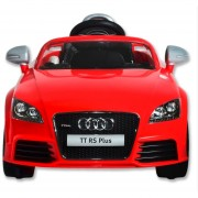 Auto Eléctrico SM Audi-Rojo