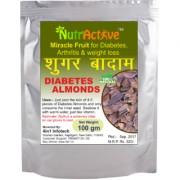 Sky Fruit Kingfruit Miracle Fruit Sugar Badam Diabetes Almonds (Unpeeled Seeds 100 gms)