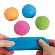 Pull and Stretch Bounce Ball - 12 Pc Stretchy Bouncy Balls