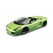 Macheta Lamborghini Gallardo Spyder BBURAGO Scara 1:32 Green