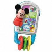 Jucarie zornaitoare Clementoni sub forma de smartphone Mickey Mouse