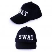 Geen Politie SWAT baseball cap verkleedkleding voor volwassenen