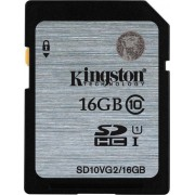 Memorija SD 16GB Kingston Class 10, UHS-I 45MB/s, SD10VG2/16GB **-