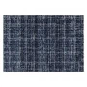 Alfombra azul con motivo gráfico 200 x 290 cm SAPHIR - Miliboo