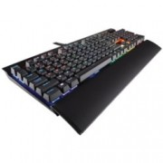 Клавиатура Corsair Gaming K70, гейминг, подсветка, черна, USB