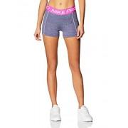 "Nike Pro 3"" Pantalones Cortos para Mujer, Color Cerulean/Fire Pink/Black/White, M"