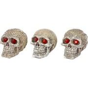 Petland 030172080982 Decoración para Acuario, Diseño Skull Gazers Decoration