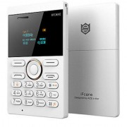 Ifcane E1 / GSM FM Bluetooth / Support 8 GB Memory card (White) - (6 months seller warranty)