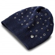 Дамска шапка LIU JO - Cappello Applicazion N67248 M0300 Dress Blue 94024