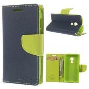 Reliance LYF Flame 4 Mercury Fancy Wallet Dairy Flip Case Cover