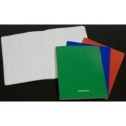 Caiet A5 36 file - 80g-mp liniat stanga coperta carton laminat AURORA - matematica