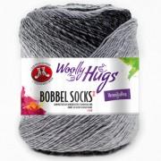 Woolly Hugs Bobbel Socks Color von Woolly Hugs, Grau