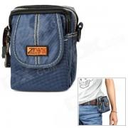 Hombro multifuncion bolso de la cintura Bolsa - Deep Blue