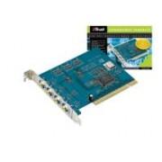 > Scheda PCI per videosorveglianza con 4 ingressi video e 1 audio
